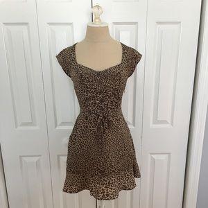 Jessica Simpson Leopard Dress